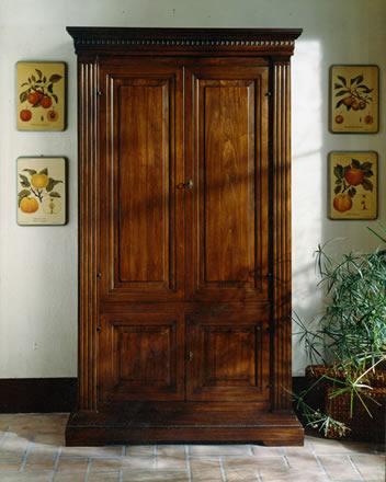 Mobili per soggiorno in legno massello design casa - Mobili legno massello ...