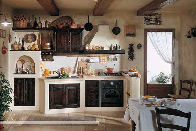 Emejing Cucine Antico Borgo Contemporary - Ideas & Design 2017 ...