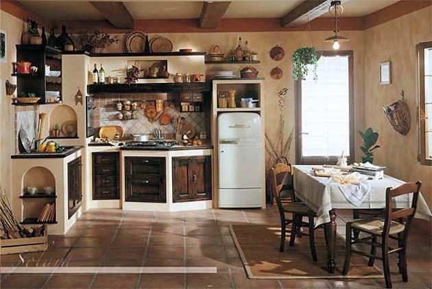 Modelli di cucina in muratura cool cool cucina modello - Modelli di cucina in muratura ...