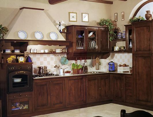 Stile antico progettazione e realizzazione di mobili su misura in legno massello - Cucine artigianali in legno massello ...